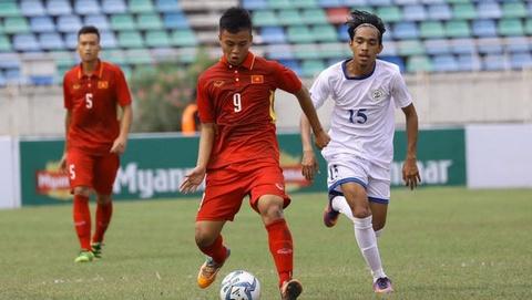 Highlights U19 Viet Nam 4-0 U19 Lao hinh anh