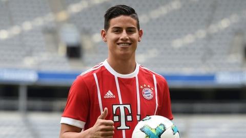 James Rodriguez noi ve viec lay lai phong do o Bayern Munich hinh anh