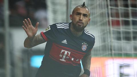 Vidal ghi ban giup Bayern danh bai Frankfurt hinh anh
