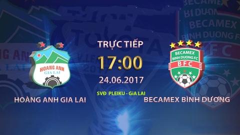 Truc tiep V. League: Hoang Anh Gia Lai vs CLB Binh Duong hinh anh