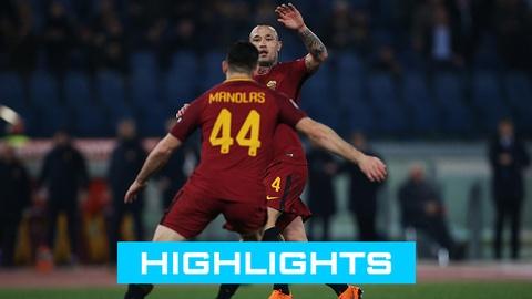 AS Roma 3-0 Torino: De Rossi toa sang hinh anh