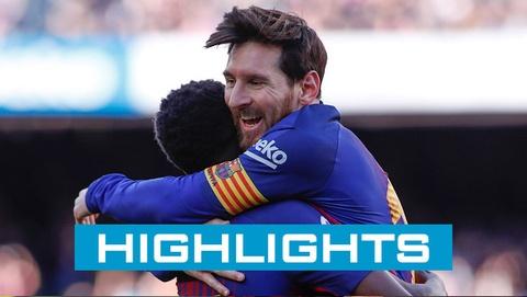 Barcelona 2-0 Atheltic Bilbao: Messi toa sang hinh anh