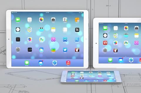 iPad 12,9 inch va iPad Mini moi khong ra mat trong nam nay hinh anh