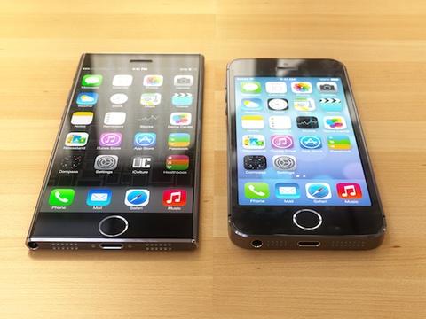 Phien ban iPhone 6 man hinh rong sieu mong giong iPod Nano hinh anh