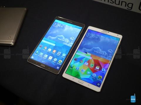 Anh thuc te Samsung Galaxy Tab S mong nhe man hinh sieu net hinh anh