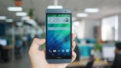 Chi tiet HTC One E8 - phien ban vo nhua cua M8 sap ban o VN hinh anh