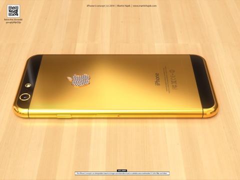 Y tuong iPhone 6 ma vang dinh kim cuong gia 85 trieu dong hinh anh