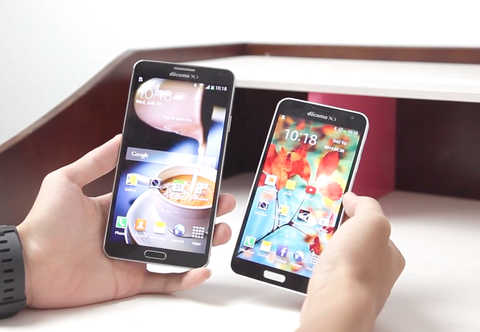 Chon mua Galaxy Note 3 Docomo hay Galaxy J ? hinh anh