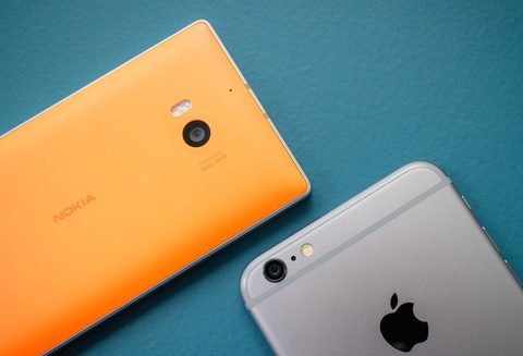 iPhone 6 Plus va Nokia Lumia 930 do anh chup dem hinh anh