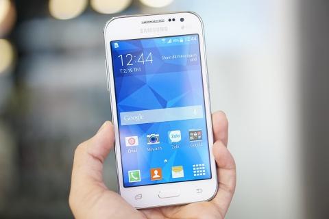 Mo hop Samsung Galaxy Core Prime gia 3,2 trieu vua ban o VN hinh anh