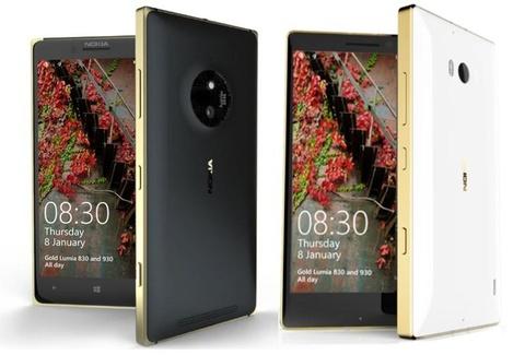 Lumia 830 Gold len ke tai Viet Nam gia 7,9 trieu dong hinh anh
