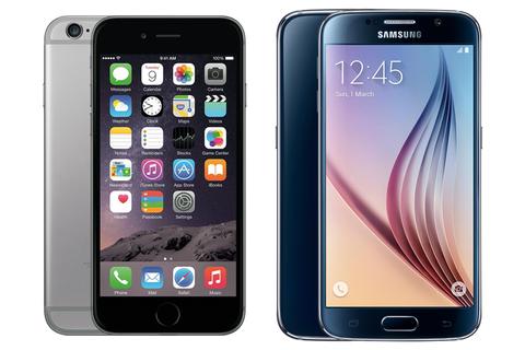 Galaxy S6 va iPhone 6: Smartphone nao dep hon? hinh anh