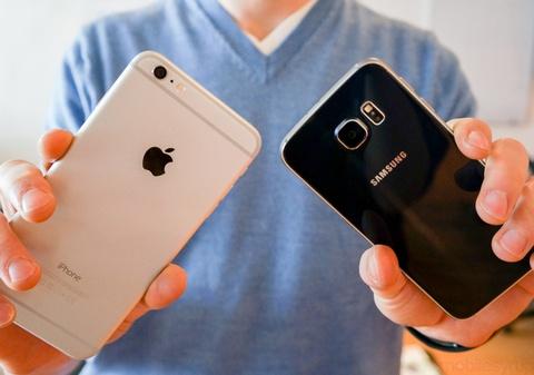 So sanh anh chup ngoai troi cua Galaxy S6 va iPhone 6 Plus hinh anh