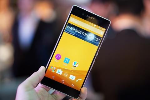 Can canh Sony Xperia Z3+ vua ra mat o VN hinh anh
