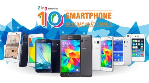 10 smartphone ban chay nhat thang 5 hinh anh