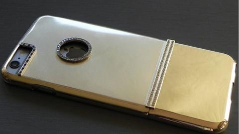 Case iPhone 6 Plus lam tu vang dac, nam kim cuong hinh anh