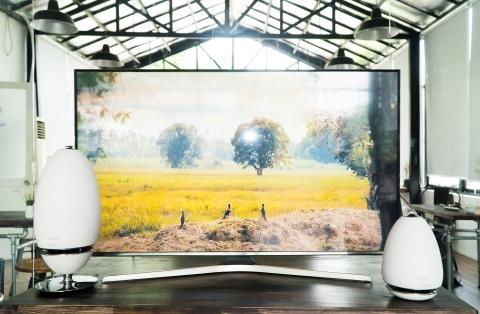 Samsung gioi thieu Smart TV sieu mong, gia tu 13 trieu o VN hinh anh