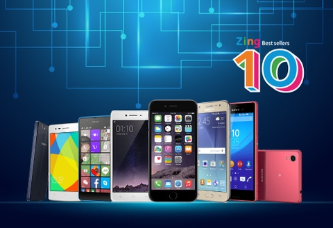10 smartphone ban chay nhat thang 9 tai VN hinh anh