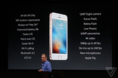 iPhone SE ra mat, gia tu 399 USD hinh anh