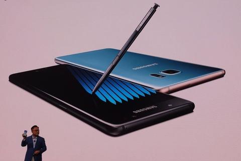 Video Samsung trinh lang Galaxy Note7 voi but S Pen moi hinh anh
