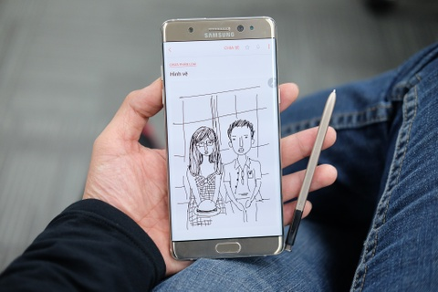 Mo hop Galaxy Note 7 sap ban o Viet Nam hinh anh
