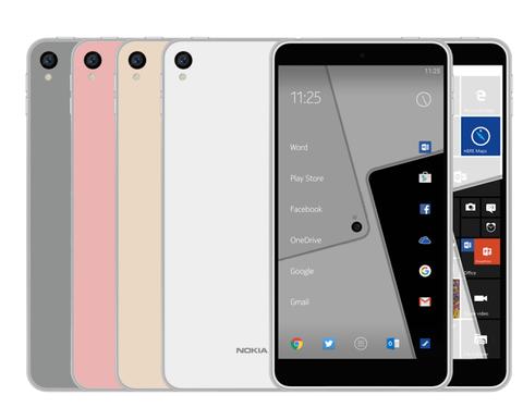 2 smartphone Android cua Nokia lo cau hinh hinh anh