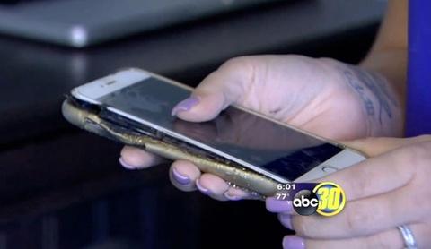 iPhone 6 Plus phat no khi dung sac chinh hang hinh anh