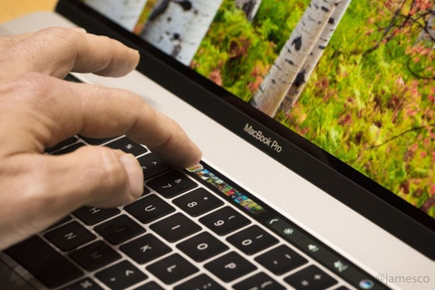 Anh MacBook Pro 2016: Sieu mong, cuc manh, them man hinh phu hinh anh 6