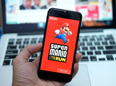 Tro choi Super Mario Run bat dau cho tai tren iPhone va iPad hinh anh