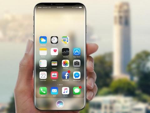 Nikkei: iPhone 8 dung kinh cong 3D mem mai hon Galaxy S7 edge hinh anh