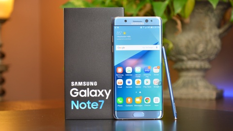 Cua hang dim gia Galaxy Note 7R du chua ban o VN hinh anh
