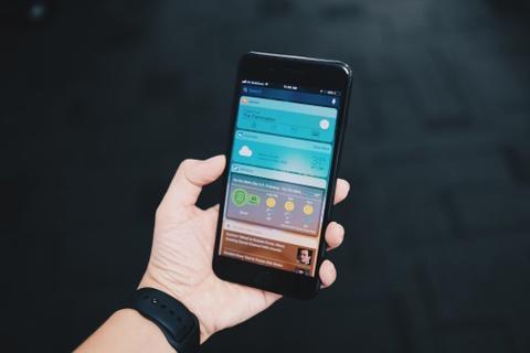 Dung thu iOS 11 tren iPhone 7 Plus o VN hinh anh 2