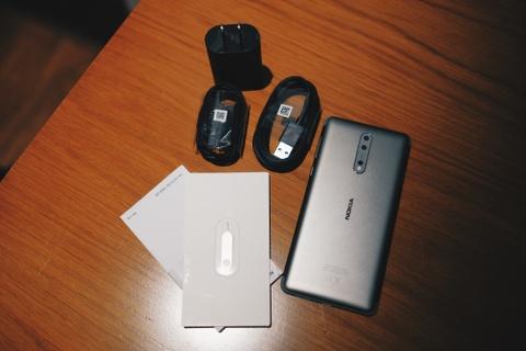 Anh Nokia 8 camera kep, Snapdragon 835, gia 13 trieu o VN hinh anh 3