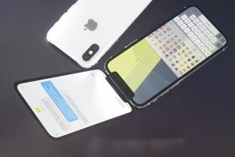 Ban mau iPhone X nap gap, hai man hinh dep mat hinh anh