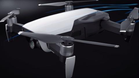 Video gioi thieu Mavic Air, drone quay 4K moi cua DJI hinh anh
