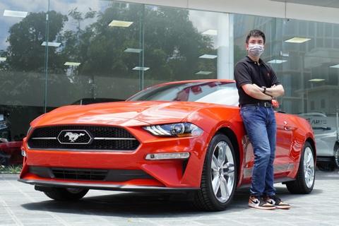 Danh gia nhanh Ford Mustang 2021: Dep, manh nhung ken khach hinh anh