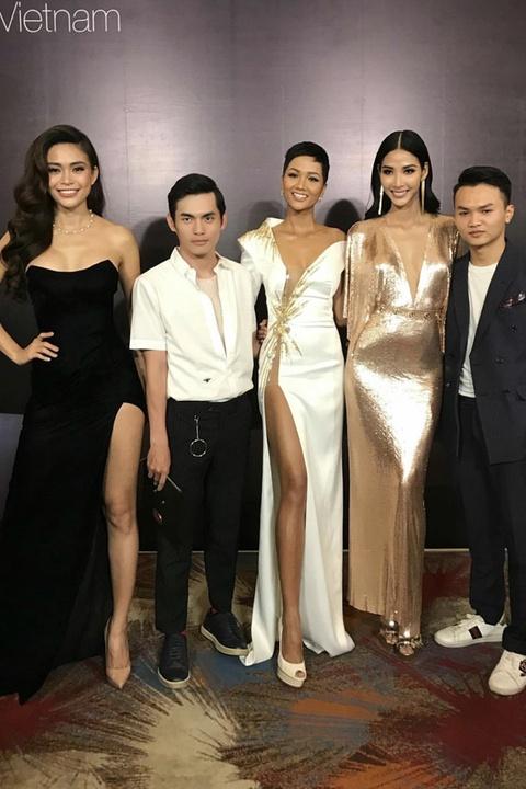Sao Viet tiec thuong stylist Mi Goi: 'Nguoi chuyen nghiep, tai nang' hinh anh 3