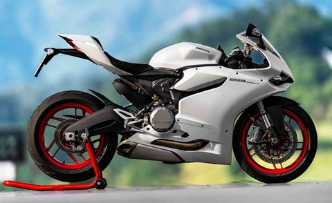 Ducati 899 Panigale chinh thuc lo dien hinh anh