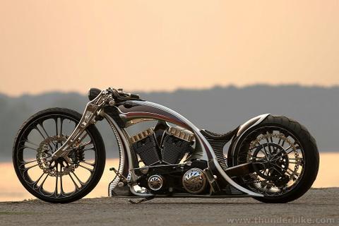 Mo to Harley-Davidson do tuyet dep hinh anh