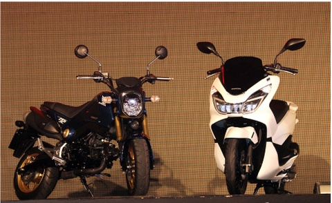 Honda PCX150 ra mat tai Thai Lan hinh anh