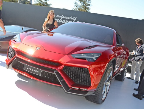 Sieu SUV Lamborghini Urus duoc san xuat tu nam 2017 hinh anh
