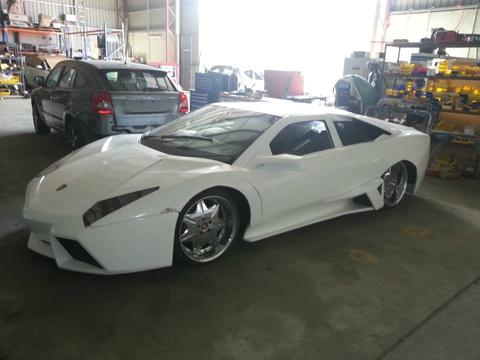 Lamborghini Reventon nhai duoc rao ban tai Uc hinh anh