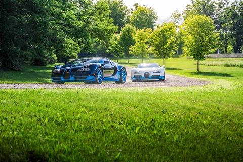 Cap sieu xe mui tran Bugatti Veyron song doi hinh anh