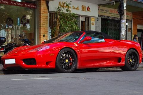 Sieu xe Ferrari F360 Spider tai xuat tren duong Sai Gon hinh anh