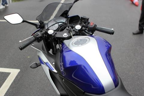 Chi tiet Yamaha YZF-R3 gia 150 trieu moi ra mat hinh anh 8