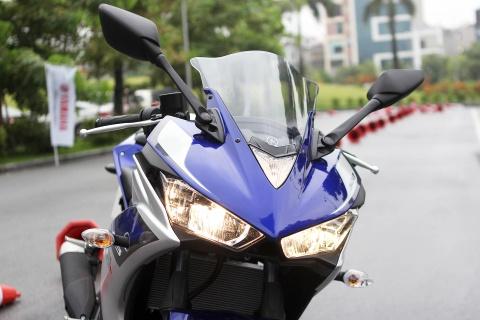 Chi tiet Yamaha YZF-R3 gia 150 trieu moi ra mat hinh anh 5
