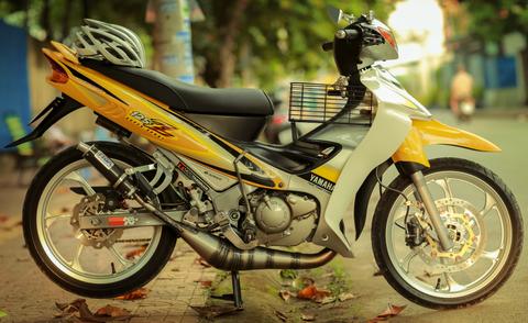 Yamaha Z 125 do hon 200 trieu cua biker Vinh Long hinh anh