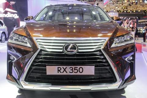 Lexus RX 350 2016 trinh lang tai Viet Nam hinh anh