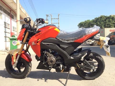 Xe con tay Kawasaki Z125 - doi thu Honda MSX ve Viet Nam hinh anh