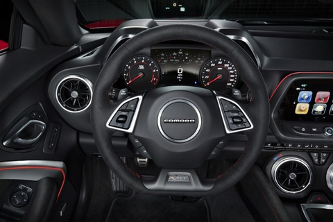 Xe the thao Chevrolet Camaro ZL1 cong suat 640 ma luc hinh anh 7